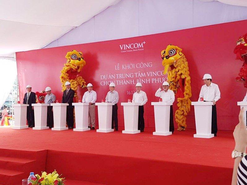 Lễ khởi công Dự án Trung tâm Vincom Chơn Thành - Bình Phước