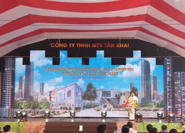 Lễ khởi công trung tâm thương mại và trường học tại dự án Đại Nam