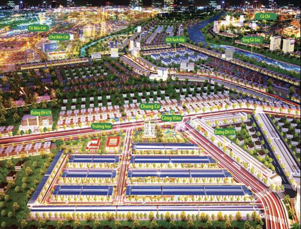 dự án khu đô thị The Eden City