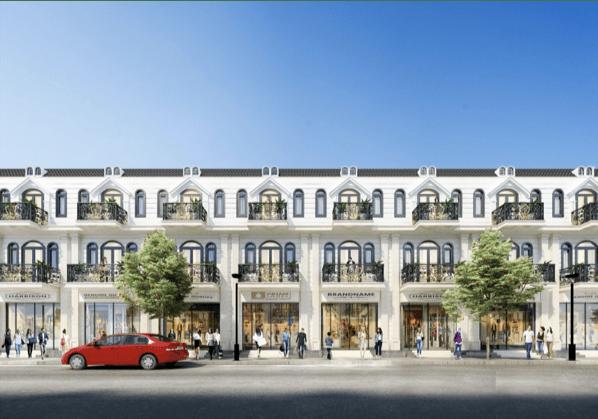 Phối cảnh các căn nhà liền kề tại dự án khu đô thị Center City 3