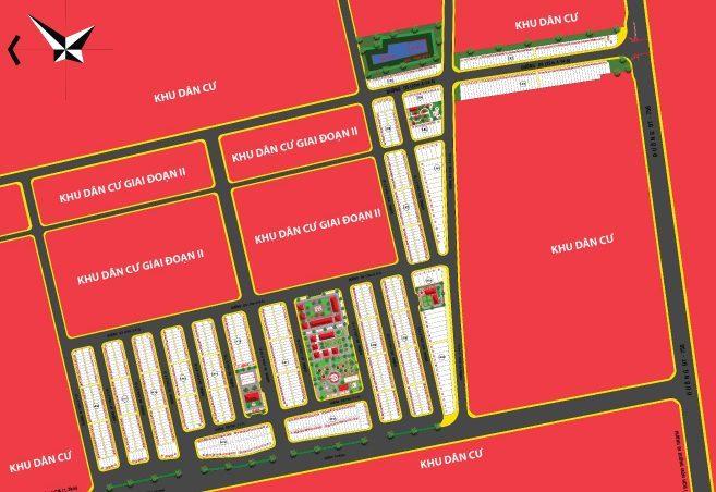 Mặt bằng phân lô dự án Thăng Long Residence