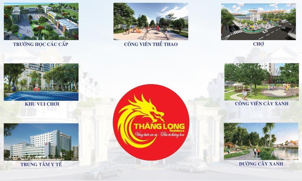 Tiện ích nội khu trong dự án Thăng Long Residence