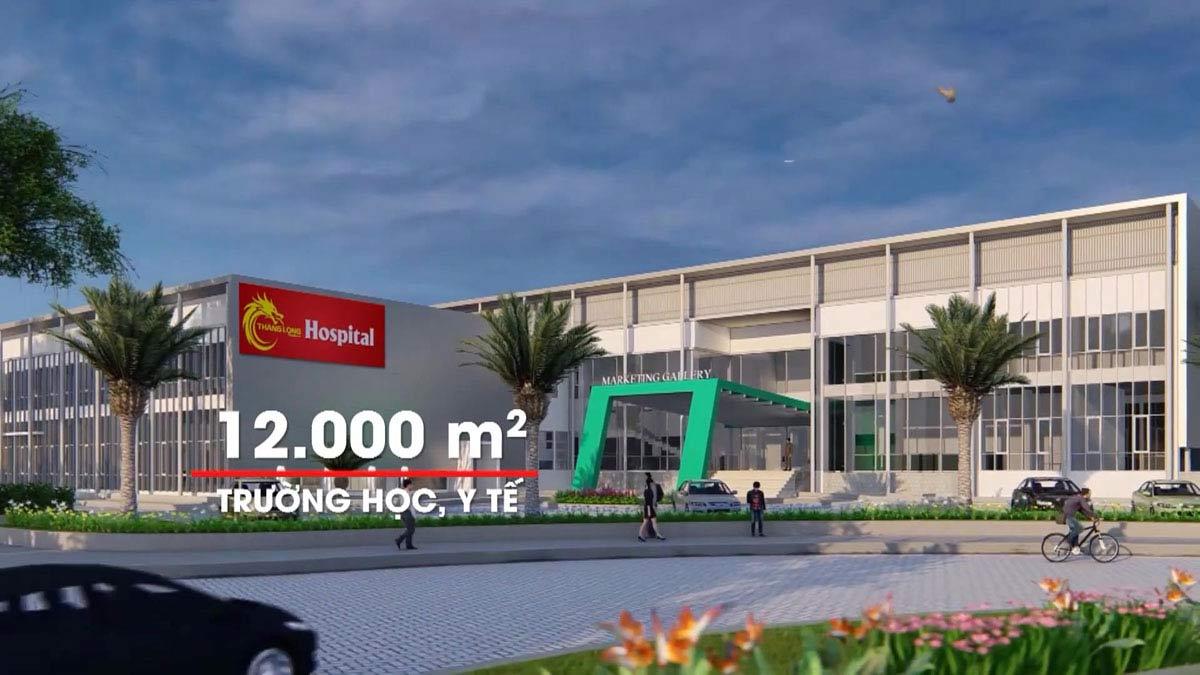 Trạm ý tết và trường học trong dự án Thăng Long Residence