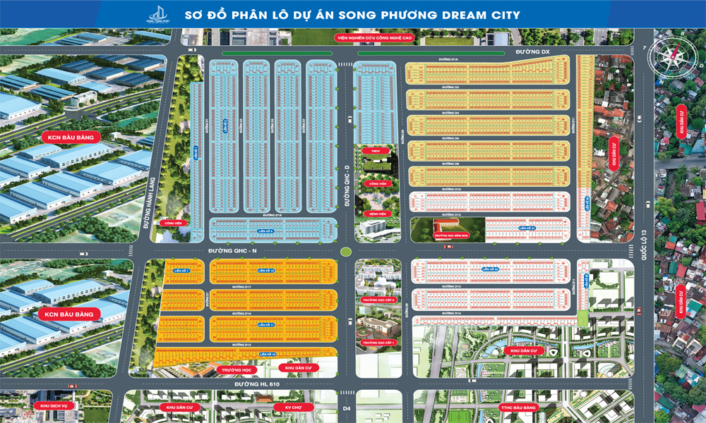 so do phan lo song phuong dream city - duc phat 3