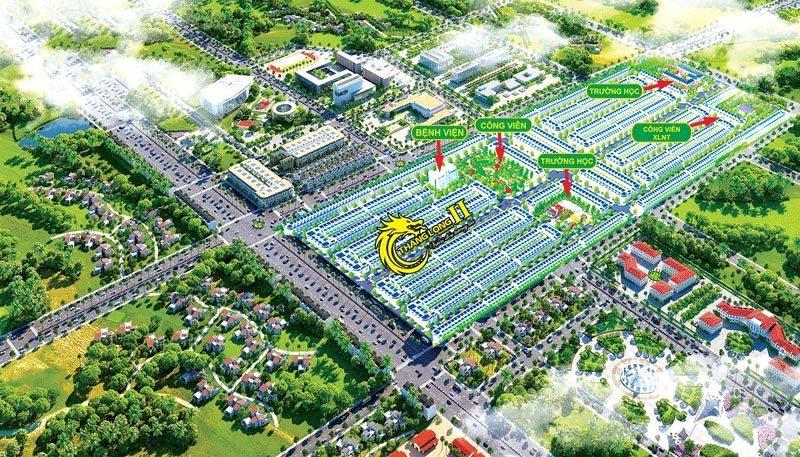 Tổng thể dự án Thăng Long Residence 2